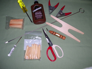 chair caning tools